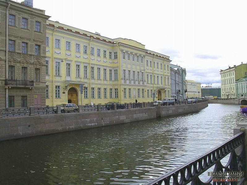 знакомые пушкина в петербурге